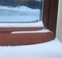 4 zatizeni snehem - okapnice U4 dekor Afromorsia